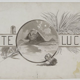 « Ante Lucem ». Illustration (vignette) pour La Légende d'un peuple, poème épique de Louis Fréchette