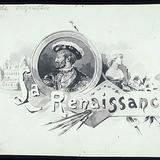 « La Renaissance ». Illustration (vignette) pour La Légende d'un peuple, poème épique de Louis Fréchette