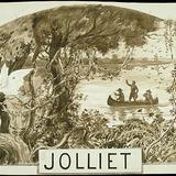 « Jolliet ». Illustration (vignette) pour La Légende d'un peuple, poème épique de Louis Fréchette