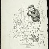 « Comment ça va ma vieille? ». Illustration pour La Hère, conte de Louis Fréchette