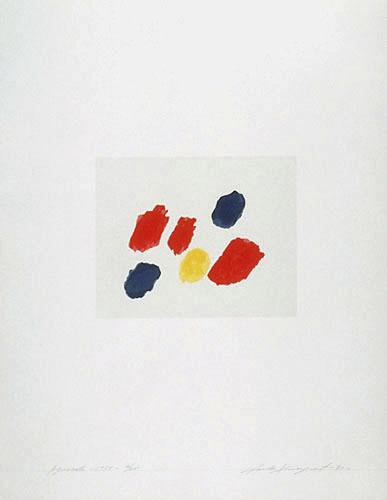 Aquarelle 1955, de l'album «Claude Tousignant»