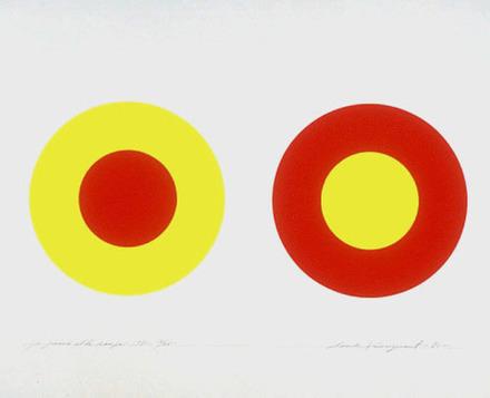Le Jaune et le rouge 1971, de l'album «Claude Tousignant»