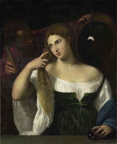 La Jeune Fille au miroir