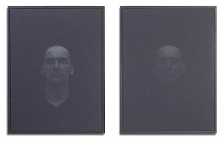 Richard G. (deux états), de la série Du noir, une impulsion lumineuse