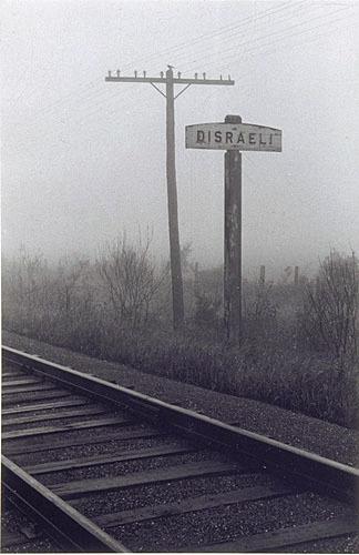Route 1 qui mène à Disraeli, de la série «Disraeli, une expérience humaine en photographie»