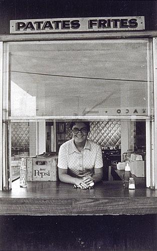 Nicole Gagné du restaurant Le Mont Blanc, de la série «Disraeli, une expérience humaine en photographie»