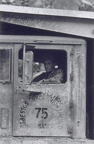 Camionneur, mine Normandie, Vimy Ridge, de la série «Disraeli, une expérience humaine en photographie»