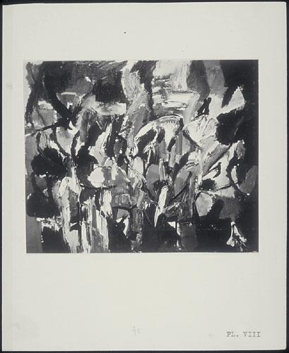 « Entre les quatre murs du vent j'écoute » de Jean-Paul Riopelle, de la maquette du manifeste « Refus global »