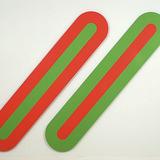 Double Diagonale vert-rouge/rouge-vert