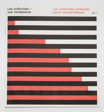 Brochure « Les Sulfamides - une renaissance, nº 2. Les Sulfamides modernes, leurs caractéristiques », pour Roche