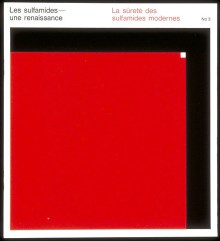 Brochure « Les Sulfamides - une renaissance nº 3. La Sûreté des sulfamides modernes », pour Roche