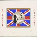 « 4th Canadian Air Pageant », proposition pour une décoration de vitrine