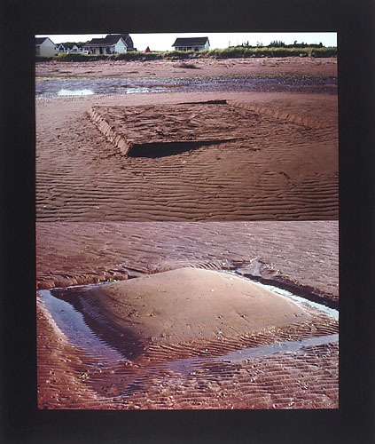 Low Tide Sand Forms No. 5 and No. 3
