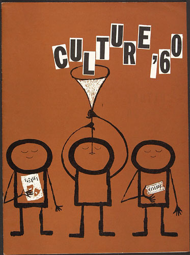Couverture de la brochure « Culture '60 »