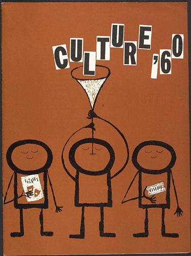 Couverture de la brochure « Culture '60 »