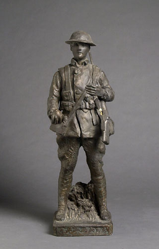 Jeune Soldat canadien de la Grande Guerre