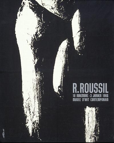 Affiche « R. Roussil »
