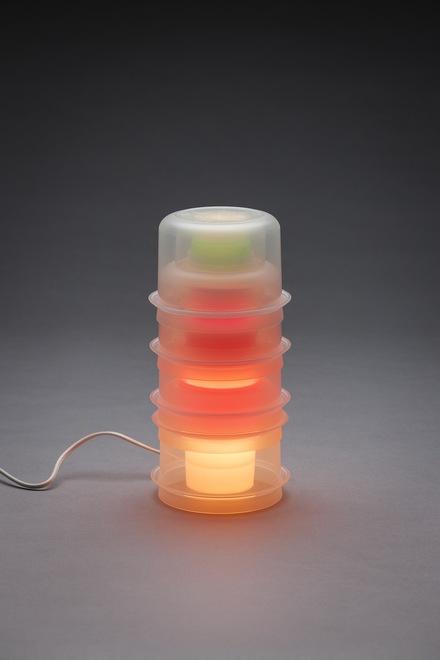 Lampe « Tupperware »