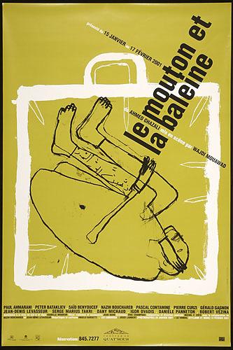 Affiche « Le Mouton et la baleine »