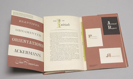 Brochure « The Art of the Printer Being a Collection of Random Notes & Observations on the Art & Practice of Typographys as Set Down by Carl Dair for the E. B. Eddy Company »