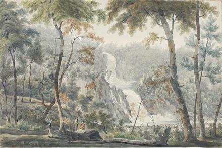Les Chutes de la rivière du Sault à la Puce