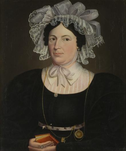 Madame Charles-Auguste d'Eschaillon de Saint-Ours, née Aurélie Faribault