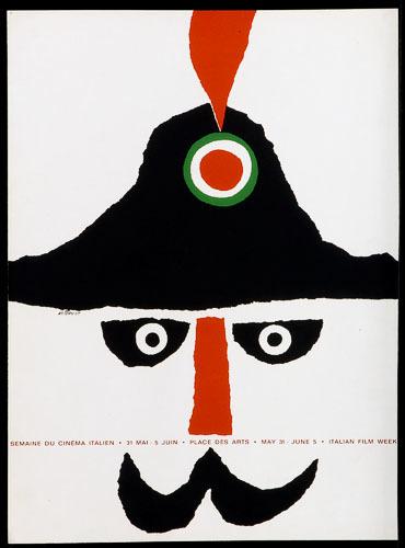 Affiche « Semaine du cinéma italien »