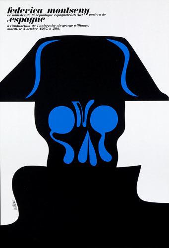 Affiche « Federica Montseny »