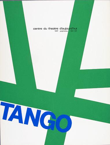 Affiche « Tango »