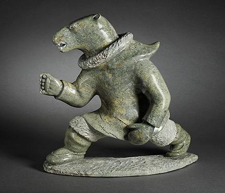 Transformation du chaman en ours