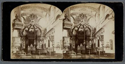 L'Intérieur de la basilique-cathédrale de Notre-Dame-de-Québec
