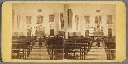 L'Intérieur de la chapelle du Séminaire de Québec