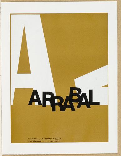 Affiche « Arrabal »