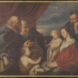 La Sainte Famille ou La Sainte Famille avec saint Zacharie, sainte Élisabeth et saint Jean-Baptiste