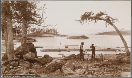 Scène à la Grande Décharge du lac Saint-Jean
