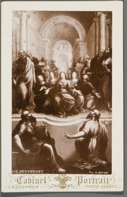La Pentecôte. Photographie d'un tableau de Georges Lallemant