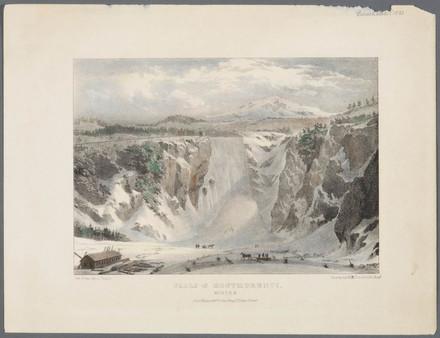 La Chute Montmorency en hiver