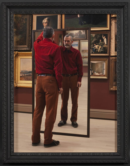 A Man Mirroring II