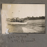 « Le Cygne », le bateau de monsieur Brunet