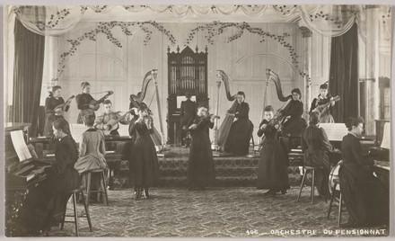 L'Orchestre du pensionnat au monastère des Ursulines, Québec