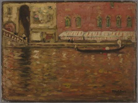 Sur le Grand Canal, Venise