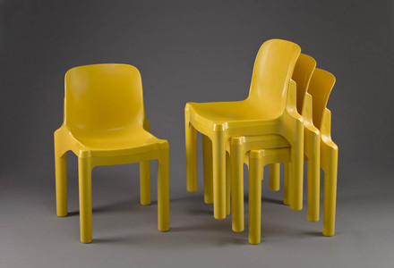 Chaise empilable, de la série Avant-Garde 2000