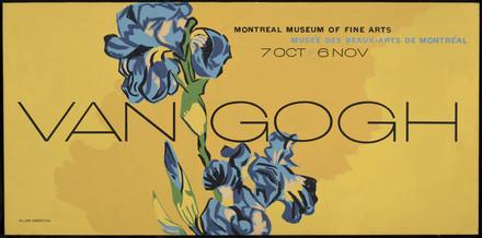 Maquette pour l'affiche « Van Gogh »