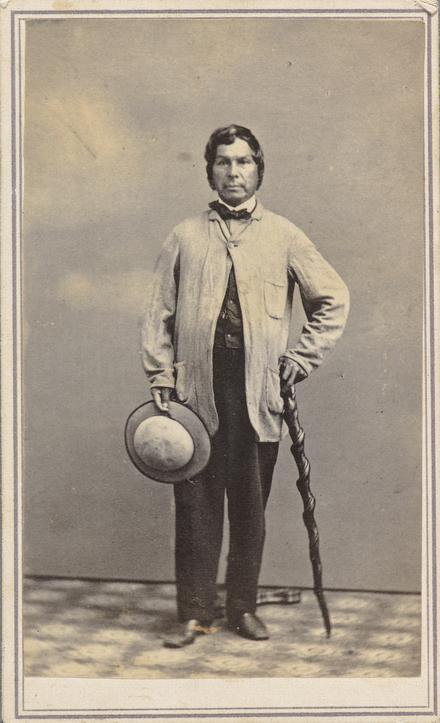 Joachim Swasin Tahamont, de l'album de collection, dit de Napoléon Garneau