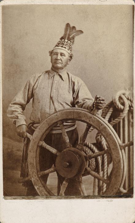 Jean-Baptiste Taiaiake Rice, de l'album de collection, dit de Napoléon Garneau