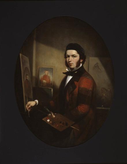 Autoportrait dans l'atelier