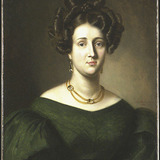Portrait de femme de la famille Dionne