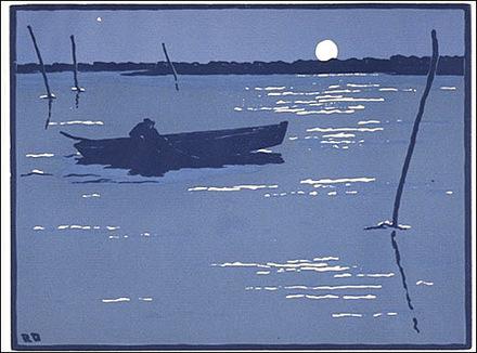 Le Pêcheur de minuit ou Pêcheur au clair de lune