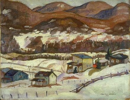 Sainte-Adèle en hiver