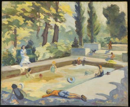 L'Heure du bain, piscine de Westmount